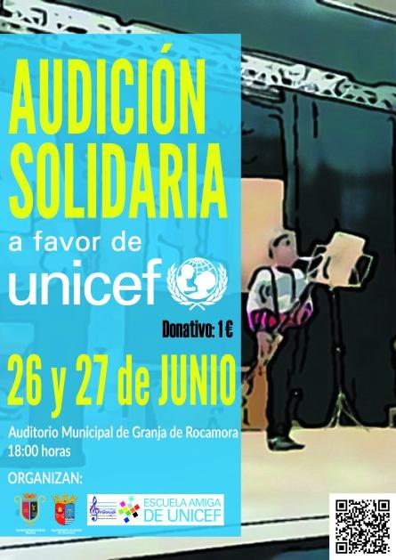Cartel Audición Solidaria 2017