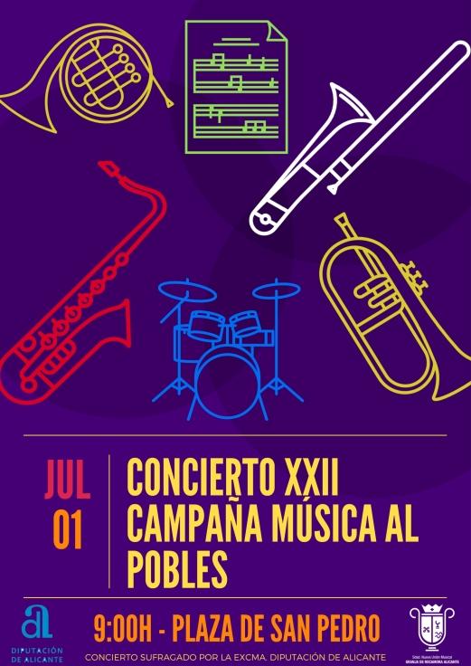 Cartel Música als Pobles 2017