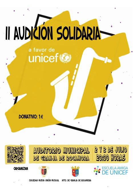 Cartel II Audición Solidaria